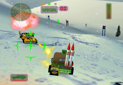 Scatter Missiles
